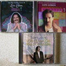 CDs de Música: LOS MAS GRANDES EXITOS DE LUIS COBOS...3 CD´S INDISPENSABLES. Lote 54515120
