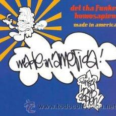 CDs de Música: DEL THA FUNKEÉ HOMOSAPIEN - MADE IN AMERICA (CD, MAXI). Lote 54515704