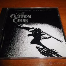 Music CDs - THE COTTON CLUB BANDA SONORA ORIGINAL CD ALBUM 1984 ALEMANIA MUSICA DE JOHN BARRY CONTIENE 15 TEMAS - 54516852