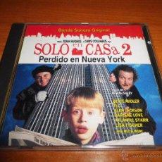 CDs de Música: SOLO EN CASA 2 PERDIDO EN NUEVA YORK HOME ALONE 2 BANDA SONORA CD ESPAÑA ANA BELEN JOHN WILLIAMS. Lote 228877945