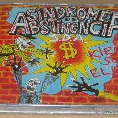 CDs de Música: SINDROME DE ABSTINENCIA KIENES SON ELLOS PRECINTADO. Lote 54530836