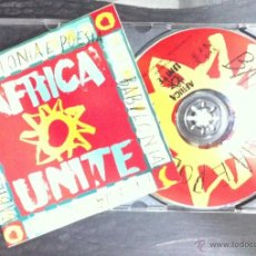 CDs de Música: AFRICA UNITE. BABILONIA E POESIA. 1993. Lote 54540938