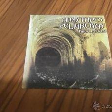 CDs de Música: AMISTADES PELIGROSAS. PASOS EN EL TUNEL. CD PROMO EN CARTÓN. BUEN ESTADO. . Lote 54548194