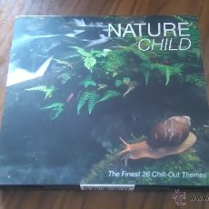 CDs de Música: NATURE CHILD. DOBLE CD EN CAJA GRANDE THE FINEST 26 CHILL-OUT THEMES. BUEN ESTADO. Lote 54551068