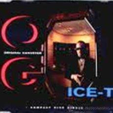 CDs de Música: ICE-T - O.G. ORIGINAL GANGSTER (CD, SINGLE). Lote 54560405