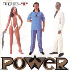 CDs de Música: ICE-T - POWER (CD, ALBUM, RE). Lote 54560442