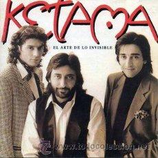 CDs de Música: KETAMA - EL ARTE DE LO INVISIBLE (CD, ALBUM). Lote 54562078