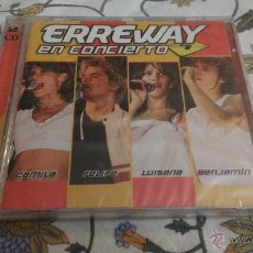 CDs de Música: CD + DVD NUEVO PRECINTADO ERREWAY EN CONCIERTO (LEER ANUNCIO). Lote 71758673