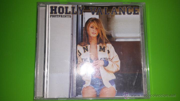 LA BELLÍSIMA HOLLY VALANCE CON SU INOLVIDABLE ÁLBUM FOOTPRINTS (Música - CD's Pop)