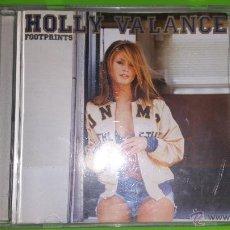 CDs de Música: LA BELLÍSIMA HOLLY VALANCE CON SU INOLVIDABLE ÁLBUM FOOTPRINTS. Lote 54568922