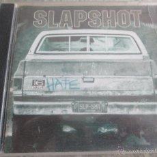 CDs de Música: SLAPSHOT.- HATE, 16 VALVE. Lote 54579746