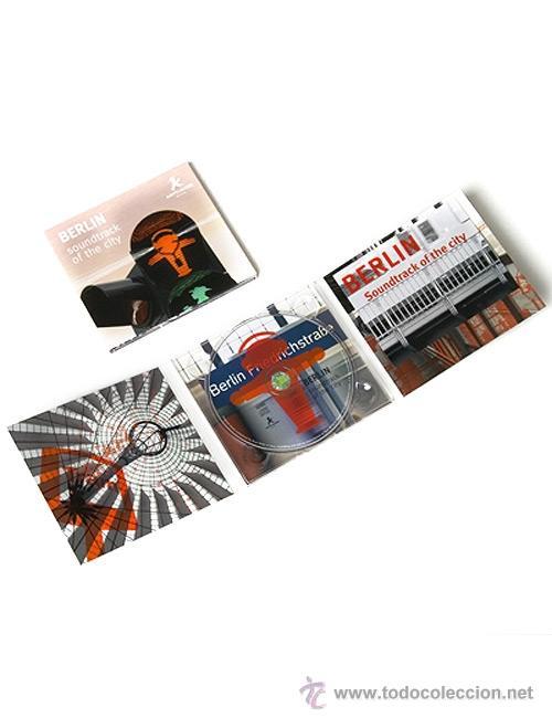 CDs de Música: BERLIN SOUNDTRACK OF THE CITY - AMPELMANN - PAUL WILKE - MUSICA Y SONIDOS DE LA CIUDAD - Foto 2 - 54579747
