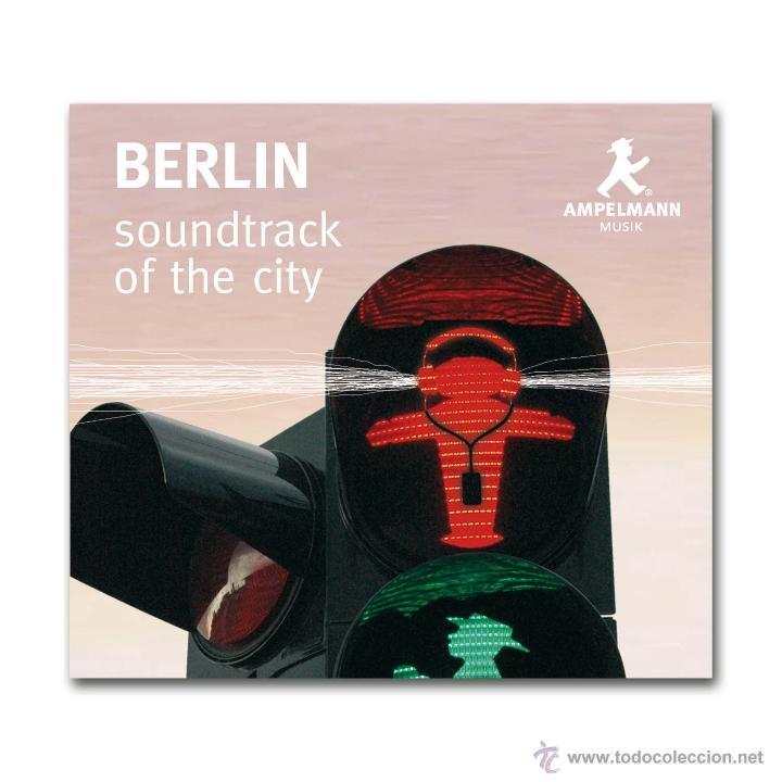 CDs de Música: BERLIN SOUNDTRACK OF THE CITY - AMPELMANN - PAUL WILKE - MUSICA Y SONIDOS DE LA CIUDAD - Foto 3 - 54579747