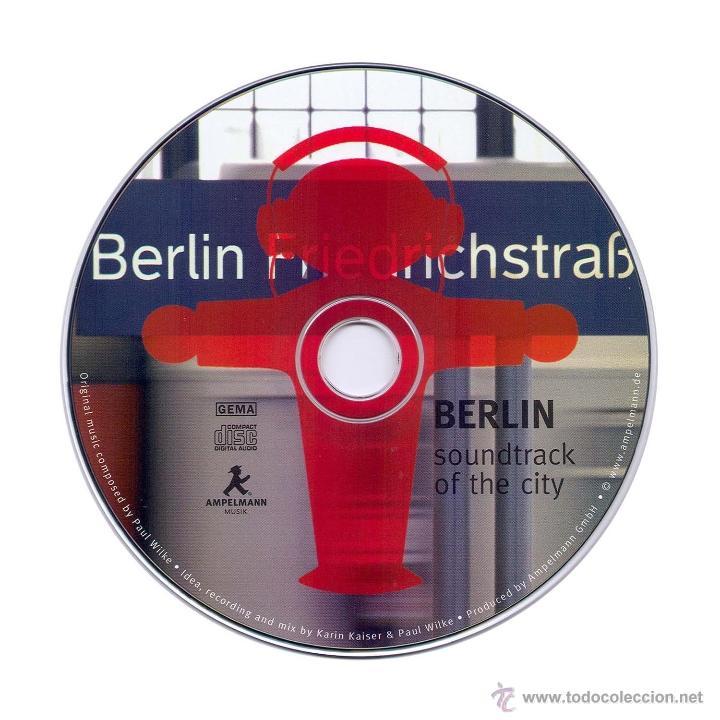 CDs de Música: BERLIN SOUNDTRACK OF THE CITY - AMPELMANN - PAUL WILKE - MUSICA Y SONIDOS DE LA CIUDAD - Foto 4 - 54579747