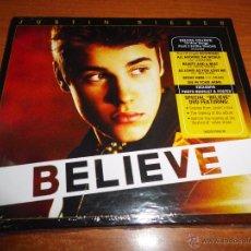 CDs de Música: JUSTIN BIEBER BELIEVE CD + DVD DIGIPACK PRECINTADO DEL AÑO 2012 CONTIENE 16 TEMAS + FOTO POSTER. Lote 54593839
