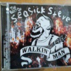 CDs de Música: SEASICK STEVE WALKIN' MAN THE BEST OF CD. Lote 54595148