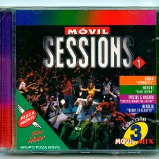 CDs de Música: CD - MÓVIL SESSIONS 1 - COLECCIÓN MÓVIL MIX 3 - PIZZA MÓVIL - MAX MUSIC - 1998. Lote 54598455