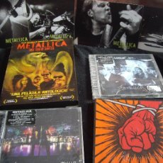 CDs de Música: LOTE METALLICA 5 CDS Y 2 DVDS. Lote 54604412