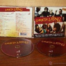 CDs de Música: CARACTER LATINO 08 - DOBLE CD VARIOS ARTISTAS. Lote 54611289