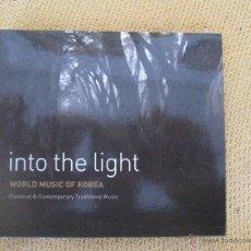 CDs de Música: INTO THE LIGHT - WORLD MUSIC OF KOREA. Lote 54618315