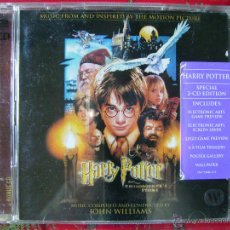 CDs de Música: HARRY POTTER Y LA PIEDRA FILOSOFAL...BSO JOHN WILLIAMS...EDICION ESPECIAL-VERSION CON CD-ROM. Lote 54635513