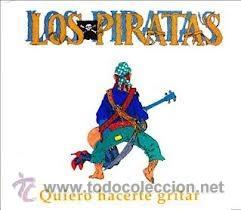 LOS PIRATAS - QUIERO HACERTE GRITAR (CD, SINGLE, PROMO, LTD, JEW) (Música - CD's Pop)