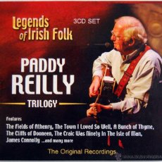 CDs de Música: PADDY REILLY TRILOGY - LEGENDS OF IRISH FOLK (ESTUCHE CON 3 CDS). Lote 54648327