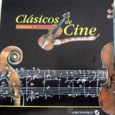 CDs de Música: 'CLÁSICOS DE CINE - VOLUMEN 4'. BARRY LINDON, MEMORIAS DE ÁFRICA, TWISTER, ETC.. Lote 54649436