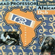 CDs de Música: MAD PROFESSOR - TRUE BORN AFRICAN DUB (CD). Lote 54653523