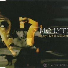 CDs de Música: MC LYTE - I CAN'T MAKE A MISTAKE (CD, MAXI) PRECINTADO. Lote 54683003