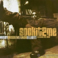 CDs de Música: MISSY MISDEMEANOR ELLIOTT* FEATURING DA BRAT - SOCK IT 2 ME (CD, MAXI). Lote 54683216
