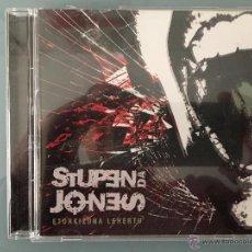 CDs de Música: STUPENDA JONES: ETORKIZUNA LEHERTU. Lote 54684264