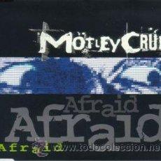 CDs de Música: MÖTLEY CRÜE - AFRAID (CD, MAXI) PRECINTADO. Lote 54684318