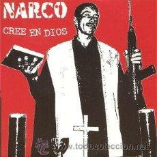 CDs de Música: NARCO - CREE EN DIOS (CD, SINGLE, PROMO, CAR) PRECINTADO. Lote 54684454
