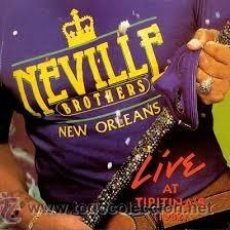 CDs de Música: THE NEVILLE BROTHERS - LIVE AT TIPITINA'S VOLUME II (CD, ALBUM). Lote 54684778