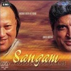 CDs de Música: NUSRAT FATEH ALI KHAN & JAVED AKHTAR - SANGAM (CD, ALBUM). Lote 54685043