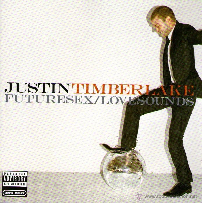 JUSTIN TIMBERLAKE - FUTURESEX / LOVESOUNDS - CD ALBUM - 12 TRACKS - SONY BMG 2006 (Música - CD's Hip hop)