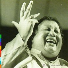 CDs de Música: NUSRAT FATEH ALI KHAN - QAWWAL AND PARTY - SHAHEN-SHAH (CD, ALBUM). Lote 54685150
