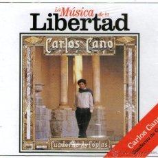 CDs de Música: MÚSICA DE LA LIBERTAD: CARLOS CANO - CUADERNO DE COPLAS - CD 9 TRACKS - NUEVO Y PRECINTADO, BMG 1985. Lote 54685250