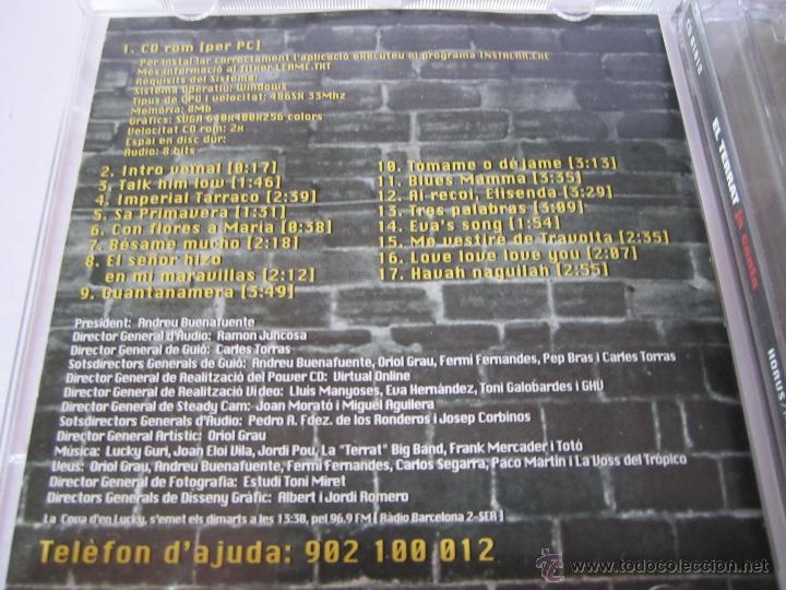 CDs de Música: cd el terrat ja canta andreu buenafuente radio barcelona televisio de catalunya año 1998 - Foto 3 - 54687278