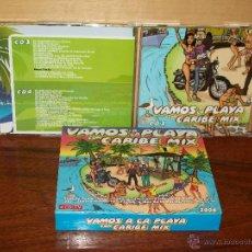 CDs de Musique: CARIBE MIX 2008 - VAMOS A LA PLAYA - CUADRUPLE CD COMO NUEVO. Lote 224766457