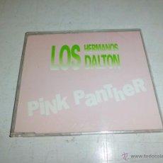 CDs de Música: LOS HERMANOS DALTON - PINK PANTHER CD SINGLE PROMO DIFICIL BUEN ESTADO. Lote 54709493
