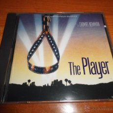 CDs de Música: THE PLAYER EL JUEGO DE HOLLYWOOD BANDA SONORA CD ALBUM 1992 VARESE SARABANDE THOMAS NEWMAN 19 TEMAS. Lote 54709888