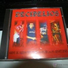 CDs de Música: DECIBELIOS CD - IGUAL DE BORRACHOS PERO MAS ORGULLOSOS SKA PUNK. Lote 54721449