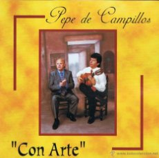 CDs de Música: PEPE DE CAMPILLOS - CON ARTE - CD ACM 2000. Lote 54735668