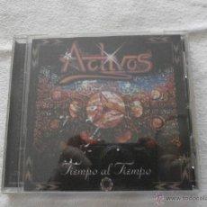 CDs de Música: ACTIVOS CD.- TIEMPO AL TIEMPO (1999) SUPER RARO-COLECCIONISTAS- A ESTRENAR. Lote 54740884