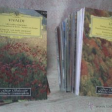 CDs de Música: GRAN SELECCION DEUTSCHE GRAMMOPHON - OBRA COMPLETA: 40 LIBROS, 80 CDS; MUSICA CLASICA. Lote 104329703