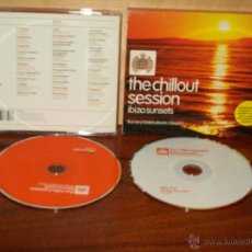 CDs de Música: THE CHILLOUT SESSION - IBIZA SUNSETS - THE VERY BEST BALEARIC CLASSIC - DOBLE CD. Lote 54770025