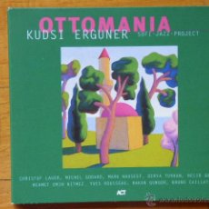 CDs de Música: KUDSI ERGUNER - OTTOMANIA - SUFI JAZZ PROJECT - 1999 - CD. Lote 54789358