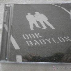 CDs de Música: OBK CD + DVD BABYLON (2003) COMO NUEVO **BUEN PRECIO **. Lote 54797553